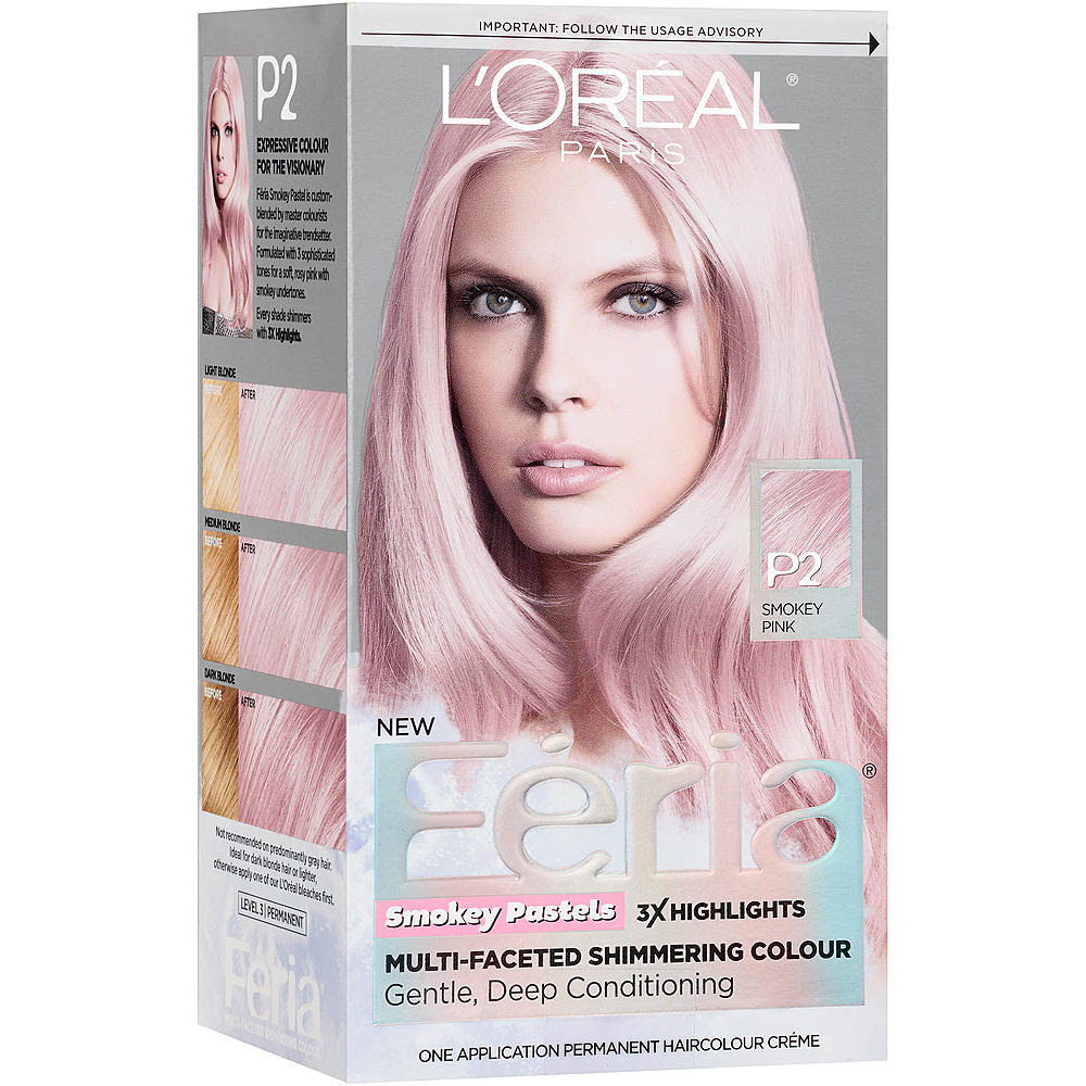 Pink Hair Dye Walmart Uphairstyle