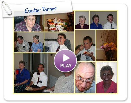 Click to play this Smilebox collage: Easter Dinner
