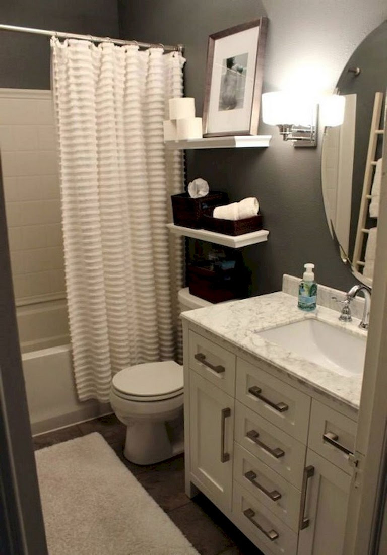 41+ Cool Small Master Bathroom Remodel Ideas on A Budget