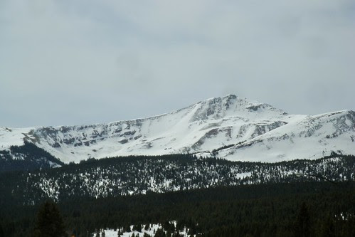 Snow Covered Peaks