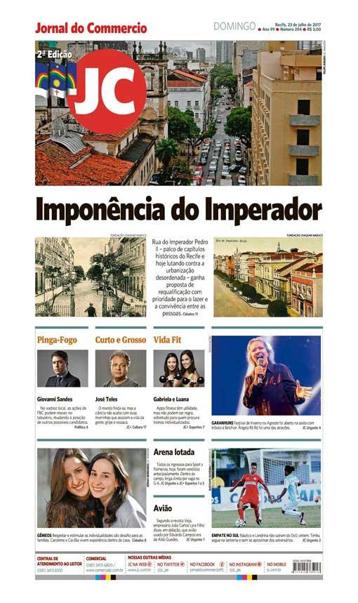 Capa do Jornal - 23/07/2017