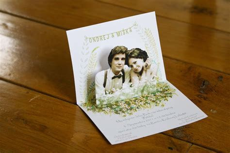 pop up wedding invitation!   Things I Just Plain Like