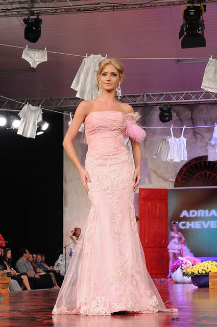 María René Antelo en el Bolivia Moda 2011