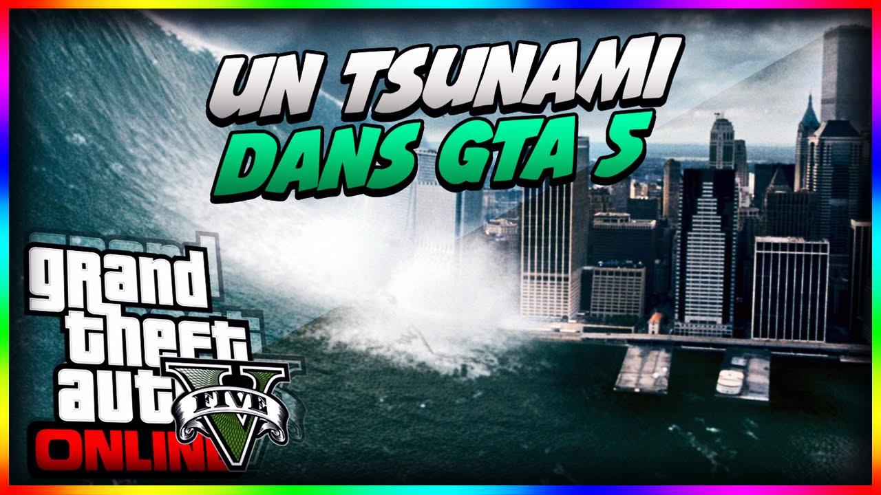 GTA V Tsunami Mod Los santos