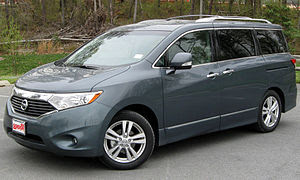 2011 Nissan Quest photographed in Silver Sprin...