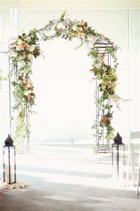 como hacer  arco de flores  boda paso  paso