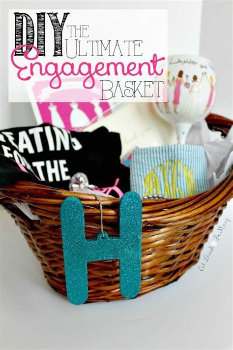The Ultimate Engagement Gift: a DIY bride to be gift