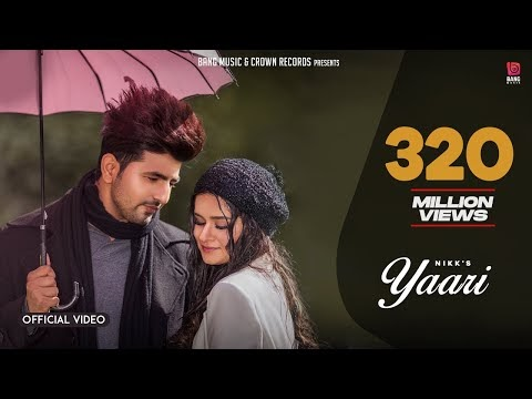 Yaari - Nikk Ft - Avneet Kaur ( Official Music ) New Punjabi Songs 2019