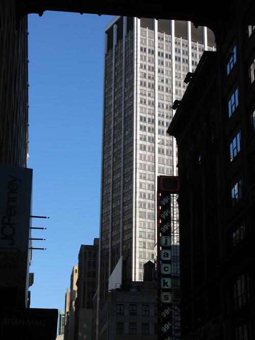 view on 32nd Street, Manhattan, NYC