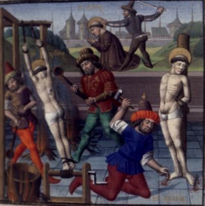 Saint Quentin. Martyr dans le Vermandois (3ème s.)