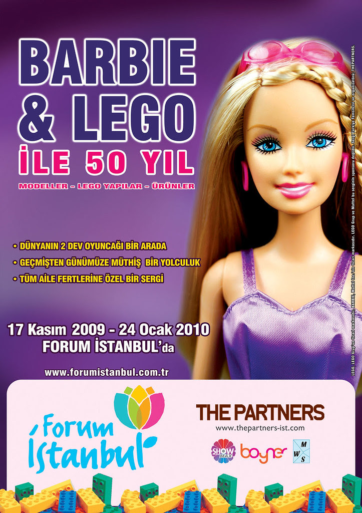Barbie Lego Sergisi