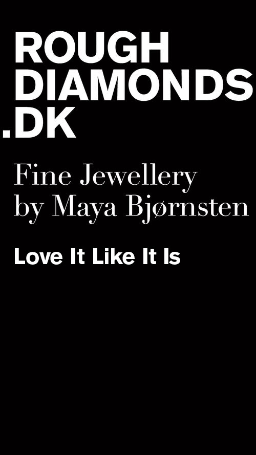 Fine Jewellery Rough Diamonds By Maya Bjørnsten