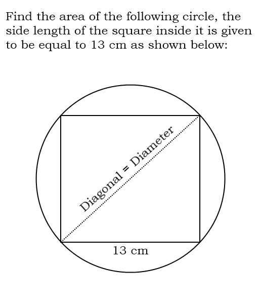 Square Inside A Circle