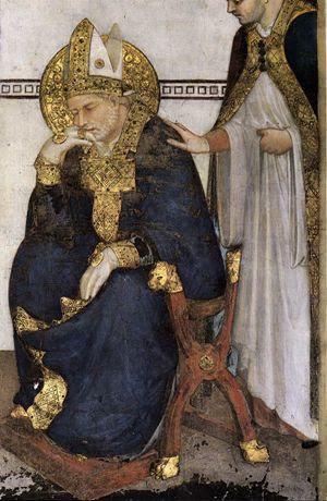 Simone Martini, San Martino in meditazione