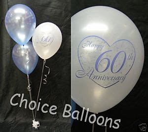 diamond  wedding anniversary balloons  decorations