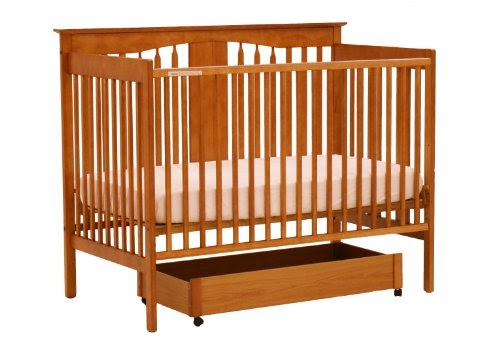 Cribs Stork Craft Lily 4 In 1 Crib With Drawer Oak