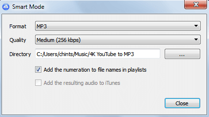 YouTube to MP3 320kbps Shortcut with Vubey YouTube