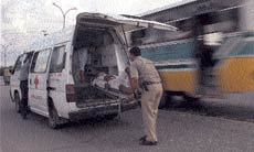 43,800 is the number of people killed in road accidents in India every year. Ten people get injured on Indian roads every 12 minutes