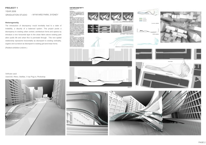 Architectural Portfolios | Life of an Architect