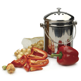 Compost Wizard 0.5 Cu. Ft. Stainless Steel Kitchen Composter
