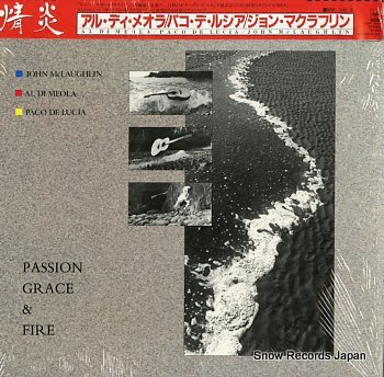 DI MEOLA, AL passion, grace & fire
