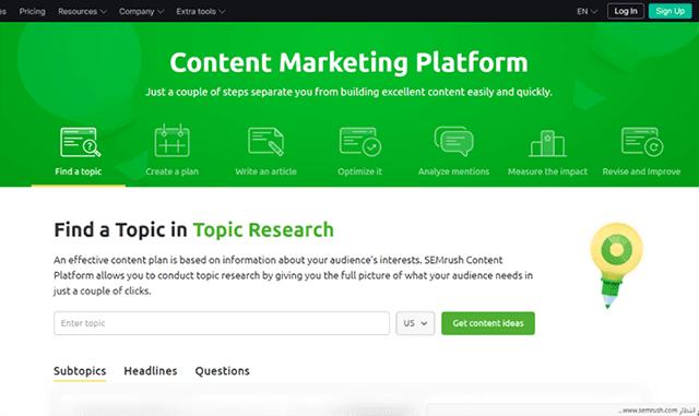 الدليل الشامل من أجل التسويق بالمحتوى في عام 2021