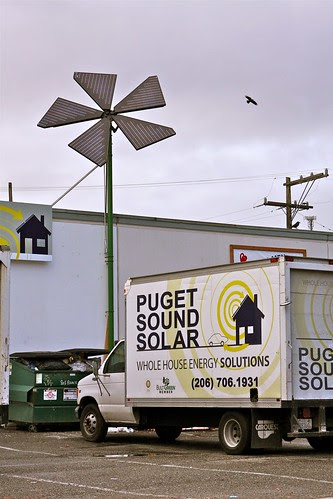 Solar Blooms in Seattle by Seattle Daily Photo