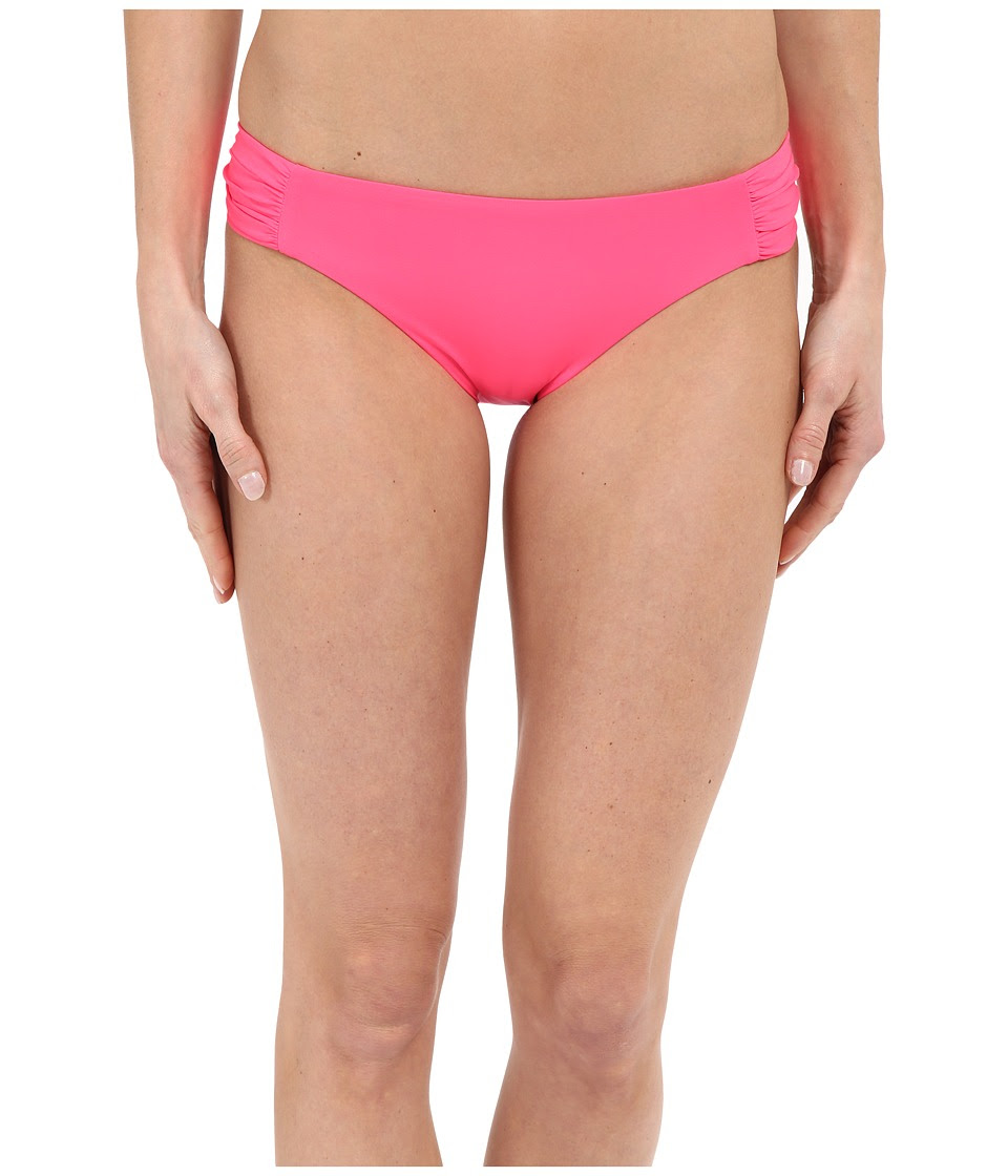BECCA by Rebecca Virtue - Color Code Tab American Bottom (Poppy) Women's Swimwear