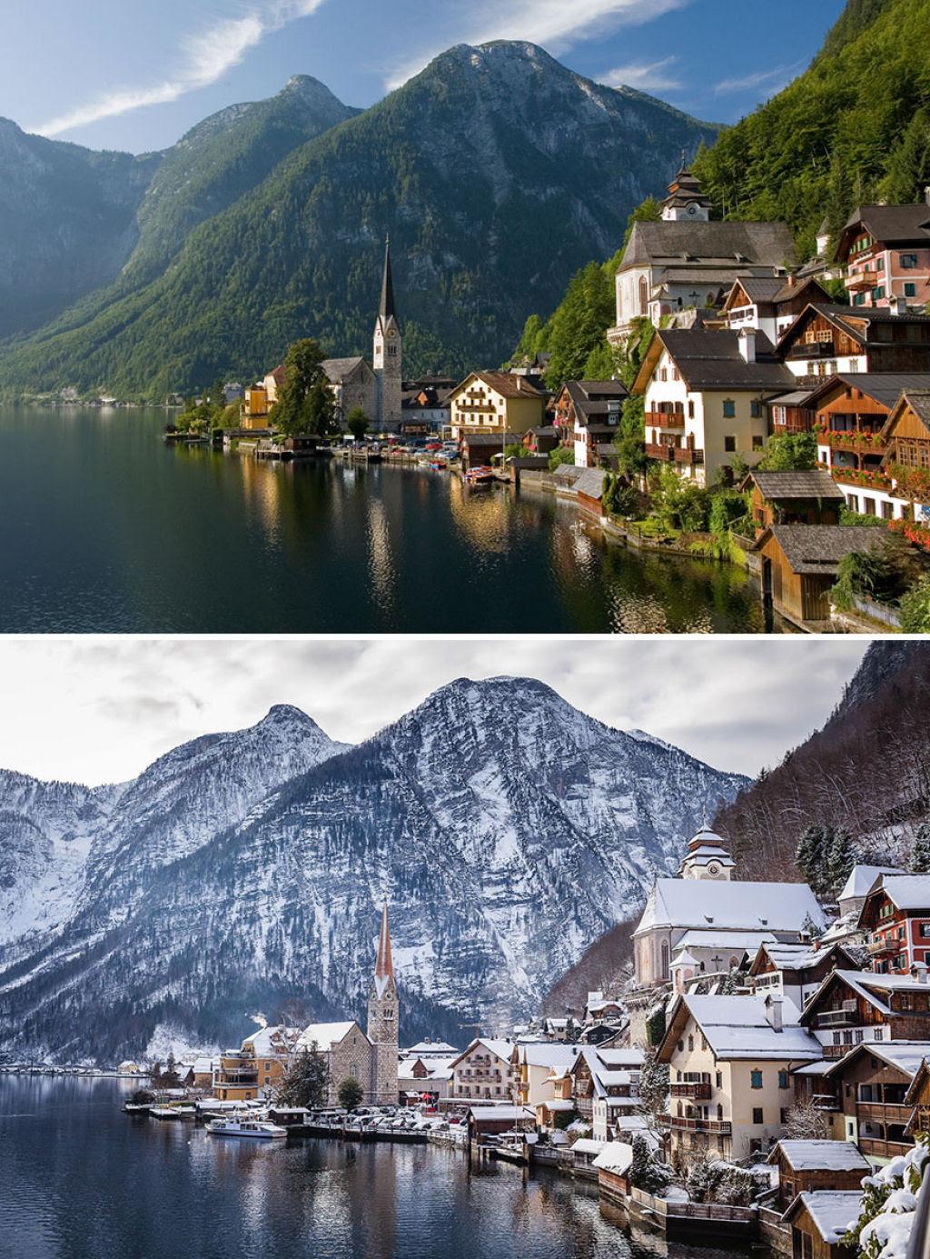15 fotos de antes e depois da transformações invernais 15