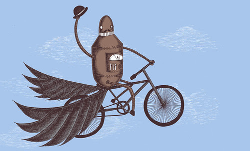 Those Mechanical Men and their Flying Machines!