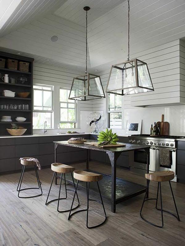 Hängelampen Kücheninsel   Glas Lampen Und Leuchten Modern ...