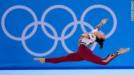 Las gimnastas de Alemania usan maillots que cubren el cuerpo, rechazando la & # 39; sexualización & # 39;  de deporte