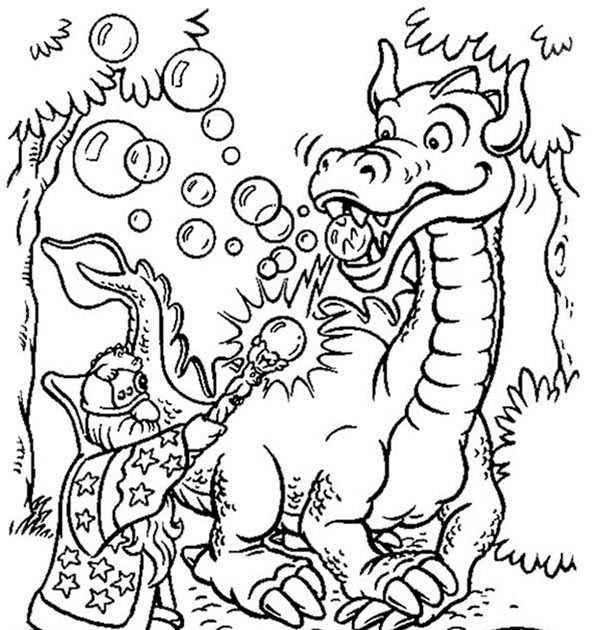 tabaluga bilder zum ausmalen  malbuch lustige tiere zum