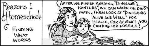 Home Spun comic strip #307