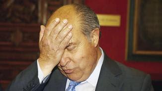José Torres Hurtado, abans de la roda de premsa d'aquest dimecres, després de quedar en llibertat (EFE)
