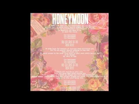 honeymoon, il nuovo singolo (e lyric video) di lana del rey