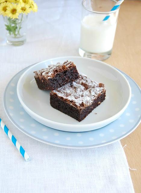 Chestnut brownies