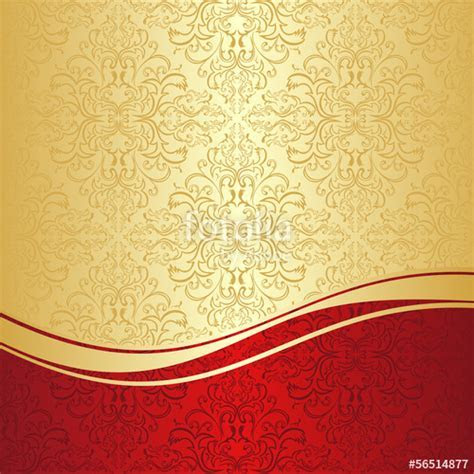 """Luxury ornamental Background: gold and red."" Stock image"