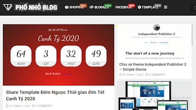 Widget Đếm Ngược Tết 2020 Cho Blogspot