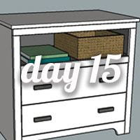 DIY Nightstand Day 15