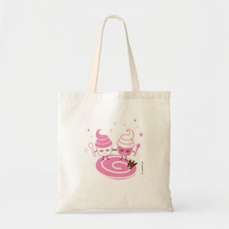 Frozen Yogurt Sisters Tote Bag bag