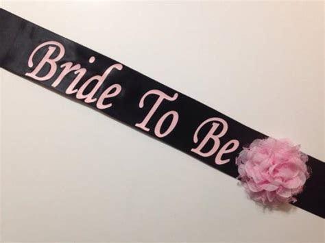 Bachelorette Sash   Bridal Shower Sash   Basic ***Design