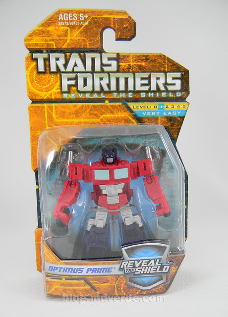 Transformers Optimus Prime Reveal the Shield Legends - caja