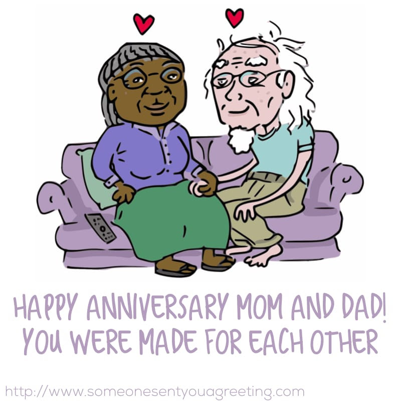 Anniversary Wishes For Parents 50 Examples Poems And Quotes