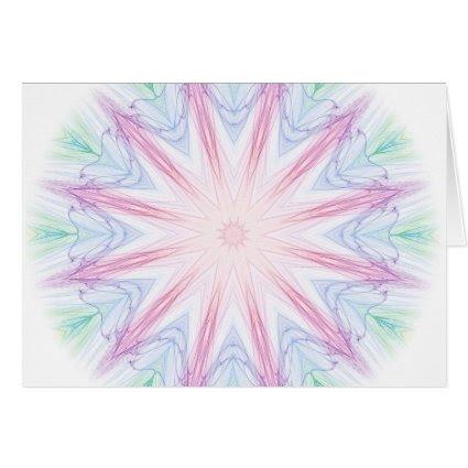 Starry Spiderweb Card