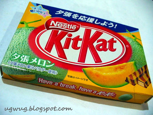 Kit Kat Rock Melon Flavour - Japan
