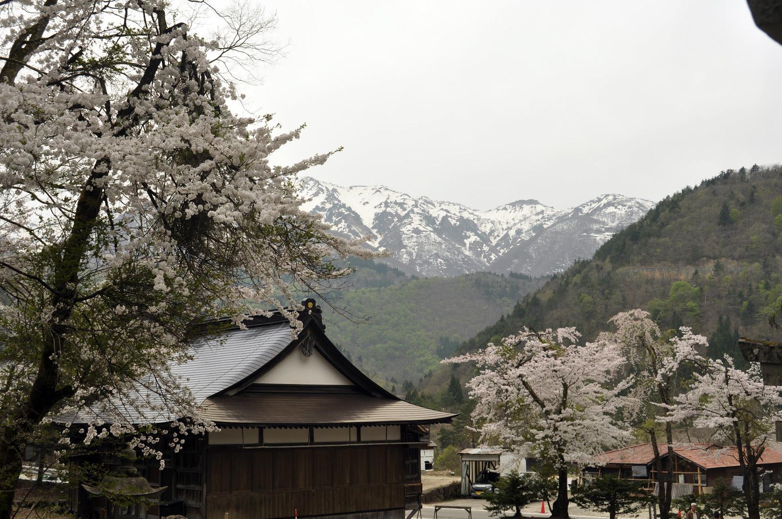 Shirakawa mountains