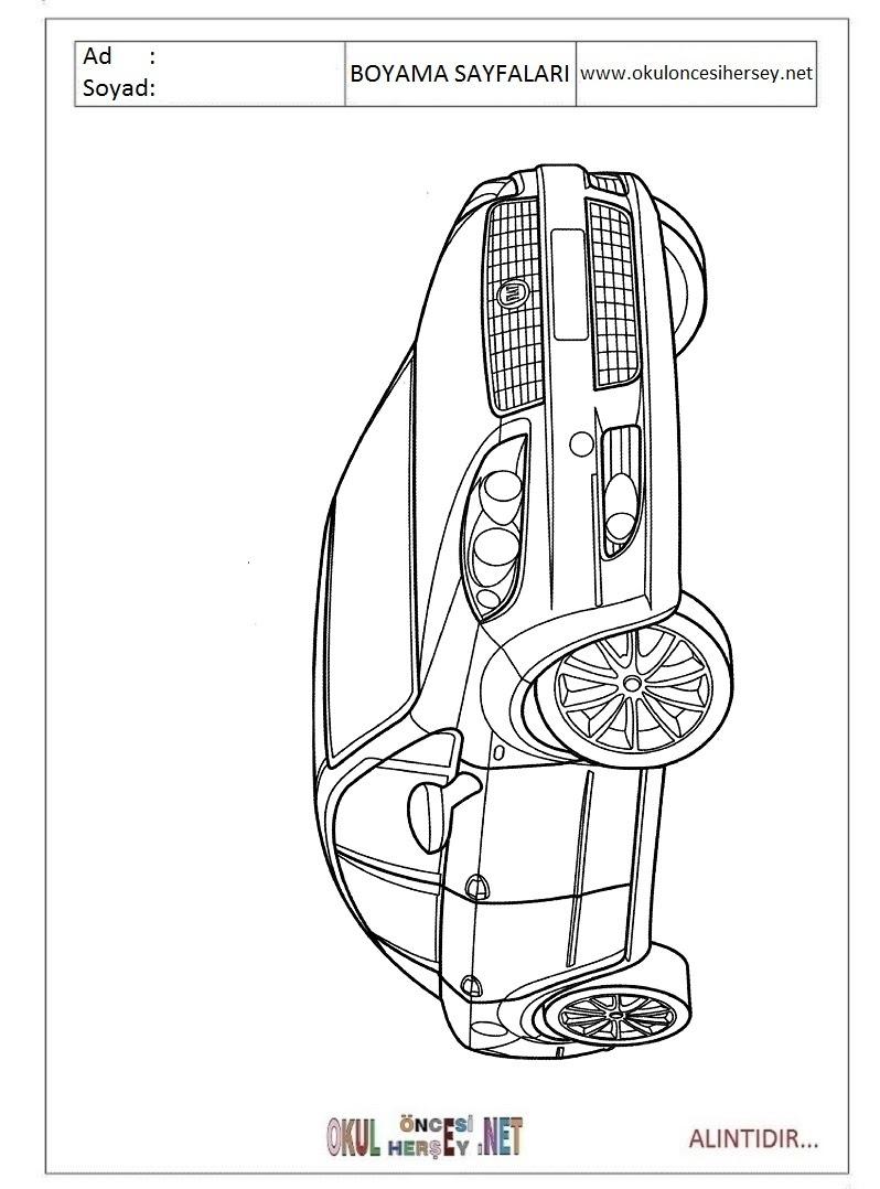 Fiat Boyama Sayfaları