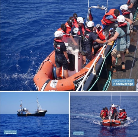 Αποτέλεσμα εικόνας για Eleonore ship near italian waters