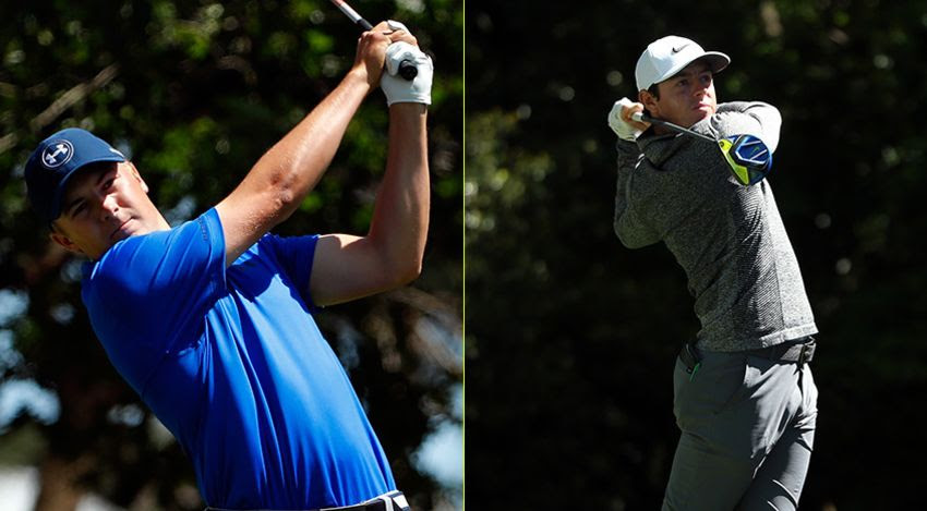 Jordan Spieth and Rory McIlroy